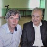 Claudio con Luciano Antonelli