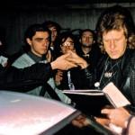 Claudio con Keith Emerson