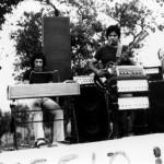 Claudio con il bassista Massimo Mazzantini