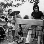 Claudio con il Batterista Mauro Ghergo