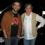Claudio con Stefano Bollani