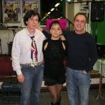 Claudio con il complesso Trio Jolly