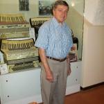 Gervasio al museo internazionale della fisarmonica di Castelfidardo (9 Ottobre 2009)