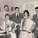 Gervasio alla commissione esami di Ancona (1956)
