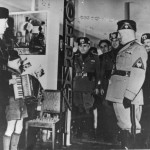 Gervasio con Benito Mussolini