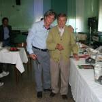 Gervasio con Claudio Capponi
