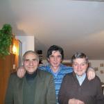 Gervasio con Claudio Capponi e Adalberto Guzzini