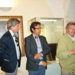 Gervasio con Claudio Capponi e Jerry Butera