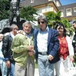 Gervasio con Claudio Capponi e Luisa Vignoni