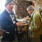 Gervasio con Claudio Capponi in visita al museo internazionale della fisarmonica (Castelfidardo)
