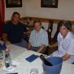 Gervasio con Danilo Donzelli e Claudio Capponi (26 Agosto 2011)