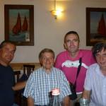 Gervasio con Danilo Donzelli Lorenzo Baiocco e Claudio Capponi (26 Agosto 2011)
