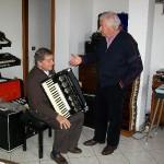 Gervasio con Dino Cocchini a casa di claudio capponi (5 Novembre 2009)