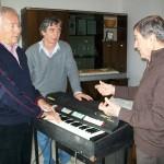 Gervasio con Dino Cocchini e Claudio Capponi (30 Ottobre 2009)