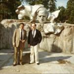 Gervasio con Ferruccio Premici in Finlandia (1982)