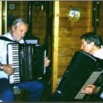 Gervasio con Giancarlo Caporilli