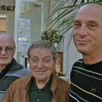 Gervasio con Giancarlo e Carlo Borsini