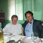 Gervasio con Jerry Butera in ristorante