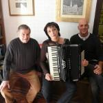 Gervasio con Manuela Crocetti e Carlo Borsini