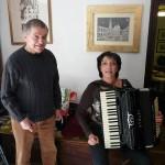 Gervasio con Manuela Crocetti (Settembre 2008)