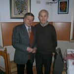Gervasio con Nazzareno Carini (12 Febbraio 2013)