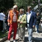 Gervasio con Peter Schreiber e Claudio Capponi