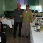 Gervasio con Pino Gulizia