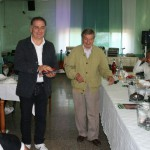 Gervasio con Renato Bonfiglio