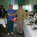 Gervasio con Sergio Zanirato