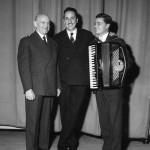 Gervasio con Silvio Scandalli e Gorni Kramer
