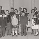 Gervasio docente ad Ascoli Piceno con gli allievi