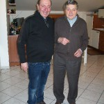 Gervasio con  Carlo Pieristè