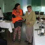 Gervasio con Claudia Monteiro