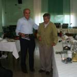 Gervasio con Giorgio Minervini