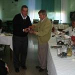 Gervasio con Roberto Garofolo