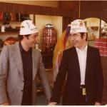 Gervasio con  Santi Latora (Chicago 1975)