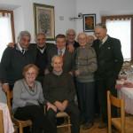 Gervasio foto di gruppo al compleanno di Nazzareno Carini (12 Febbraio 2013)