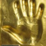 Gervasio impronta della mano destra (Museo delle impronte Recoaro Terme)