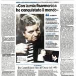 Gervasio intervista da il giornale il Resto del Carlino (6 Marzo 2011)