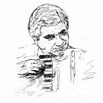 Gervasio schizzo della disegnatrice Anita Memè