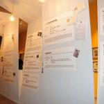 Sala secoda: Tunnel con la storia di fabbriche di fisarmoniche di Camerano