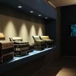 Sala seconda: Esposizione di fisarmoniche con monitor