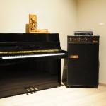 Sala settima: Pianoforte Tp 112 Night & Day  P 200 7x 2 Spaccato di meccanica pianoforte verticale