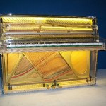 Sala settima: Pianoforte trasparente Tp 105