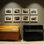 Sala settima: Pianoforti Tp 105 Night & Day e Tp 105 nero